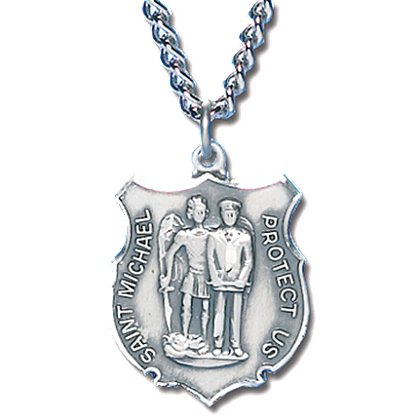 Blackinton St. Michael Medal with Chain