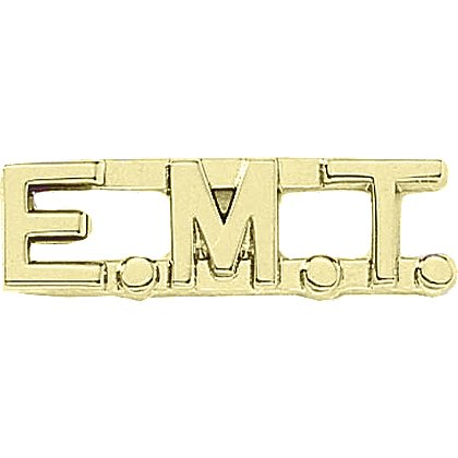 Blackinton: E.M.T. Letter Combination Pin