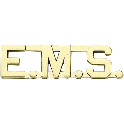 Blackinton: E.M.S. Letter Combination Pin