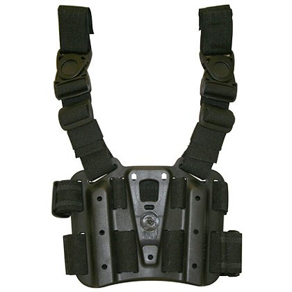 Blackhawk CQC Tactical Thigh Holster Platform, Tactical Matte Finish