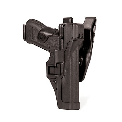 Blackhawk SERPA Auto Lock Level 3 Duty Holster, Black