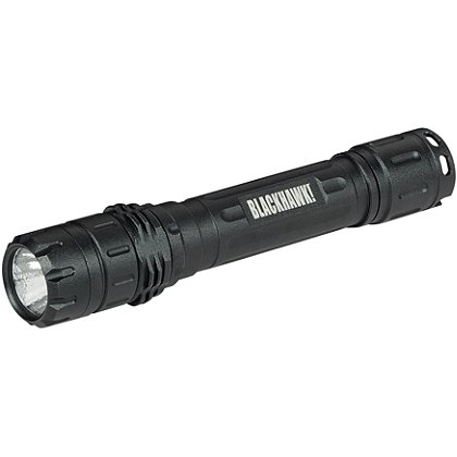 Blackhawk Night-Ops Legacy L-2A2 Tactical Handheld Flashlight, 2 AA Batteries, 200 Lumens, 7.3