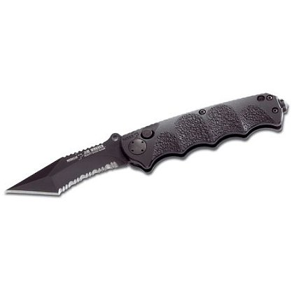 Boker Plus:RBB Tanto Style Folding Knife, Partially Serrated