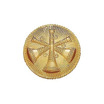 Smith & Warren: Three Bugles (Assistant Chief) Medallion
