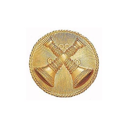 Smith & Warren Two Bugles Crossed (Battalion Chief) Medallion