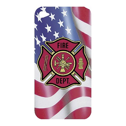 TheFireStore iPhone 4 Decal, Maltese Cross & USA Flag