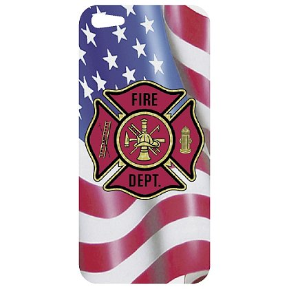TheFireStore iPhone 5 Decal, Maltese Cross & USA Flag