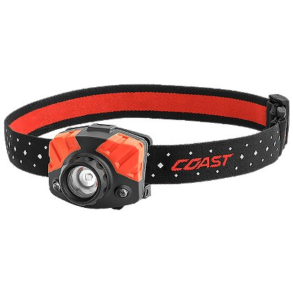 Coast FL75R Rechargeable LED Headlamp