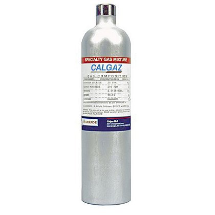 Calgaz Calibration Gas, 1 Gas NH3