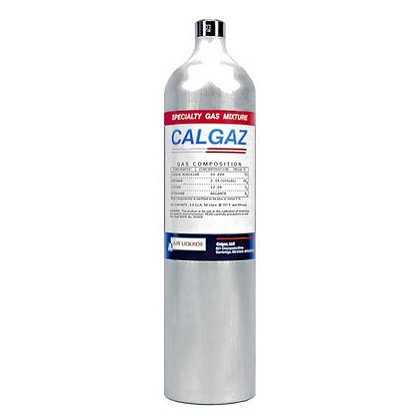 Calgaz Calibration Gas, 1 Gas H2S