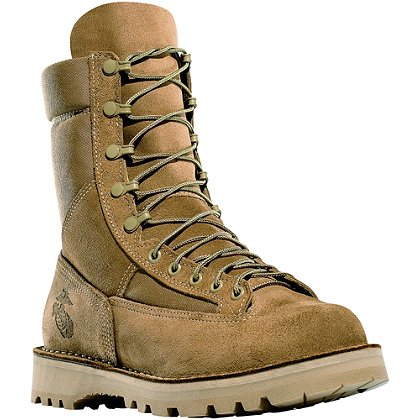 "Danner 8"" Marine Hot Olive Mojave Military Boot with Dri-Lex, Men's"