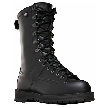 "Danner Fort Lewis 10"" Black Uniform Boot with 200G Thinsulate, Men's"