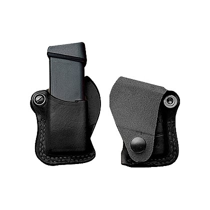 DeSantis Style A48 Tac 1 Single Mag Pouch, Black, Left Hand
