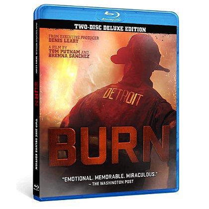 Detroit Fire Film BURN, Detroit Firefighters Documentary, Blu-Ray