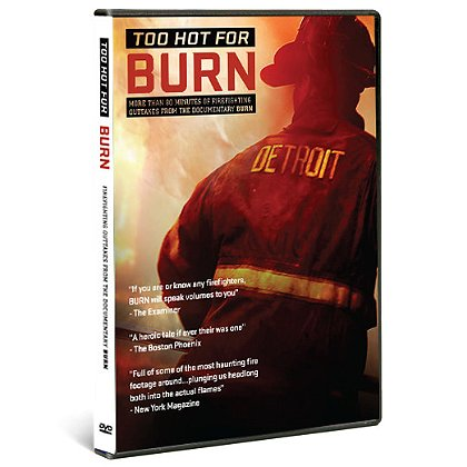 Detroit Fire Film: Too Hot for BURN DVD, Extra Footage