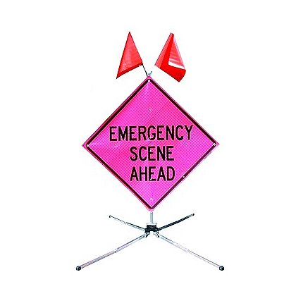 Dicke: Fold and Roll, Emergency Traffic Control Sign System