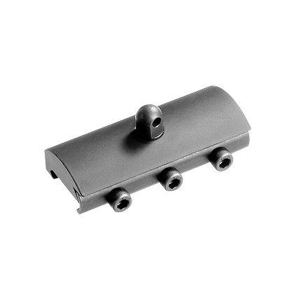 DoubleStar: Picatinny Rail Bipod Adapter
