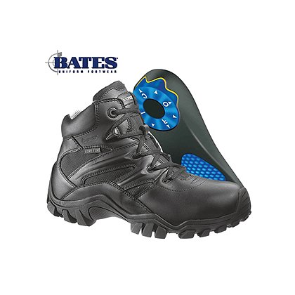 Bates: Delta-6 Side Zip, 6 in. Tactical Boot with Individual Comfort System