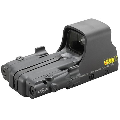 EOTech: AA Battery Reticle Pattern With 65 MOA Ring and 1 MOA Dot with LBC2 Accessory Included
