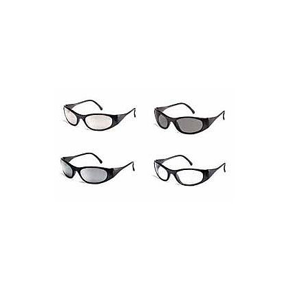 Crews Inc FrostBite2 Safety Glass, Black Frame