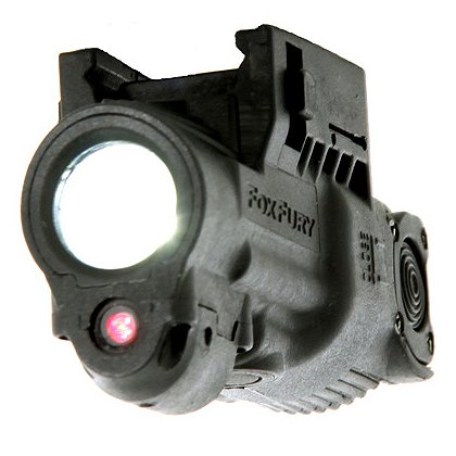 FoxFury: AWL-P Laser-Tac Amphibious CREE LED Weapon Light with Red Aiming Laser