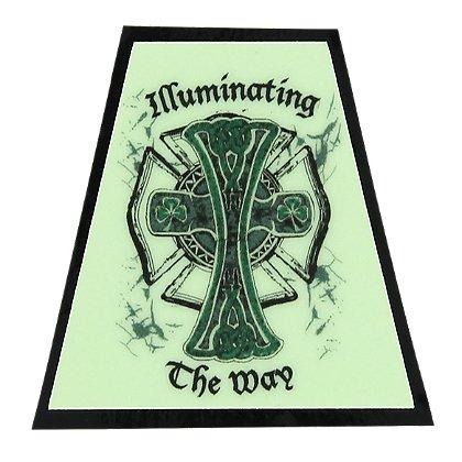 FoxFire Illuminating Irish Cross Tetradedron Decal
