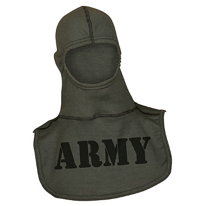 Majestic: Pac II 100% Nomex Sage Green Army Valor Hood, NFPA 1971-2013