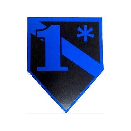 FrontLine Designs, LLC Blue Line 1* Sticker