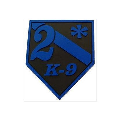 FrontLine Designs, LLC: Blue Line 2* Subdued 2D PVC Patch