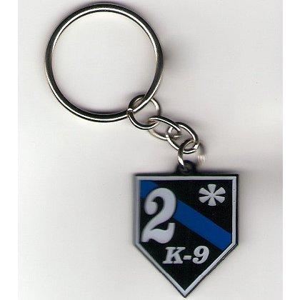 FrontLine Designs, LLC 2* Thin Blue Line Keychain