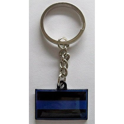 FrontLine Designs, LLC Thin Blue Line Key Chain
