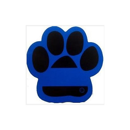 FrontLine Designs, LLC: Blue Line Paw Reflective Decal