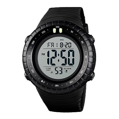 Frontier Aquaforce Jumbo Digital Watch, Green Display