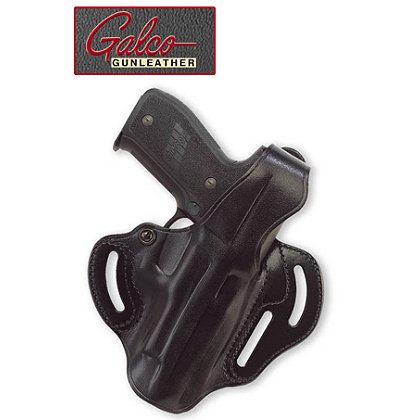 Galco Cop Three Slot Belt Holster