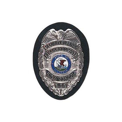 Gould & Goodrich Duty Leather: Shield Clip-On Black Badge Holder