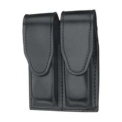 Gould & Goodrich Duty Leather Double Magazine Case, Hidden Snap