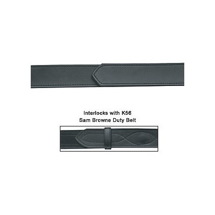 Gould & Goodrich K-FORCE: VELCRO® brand Lined Buckleless Pants Belt