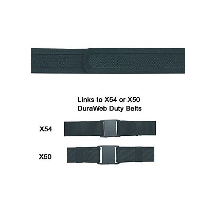 Gould & Goodrich Phoenix Nylon: Buckleless VELCRO® brand Lined Pants Belt