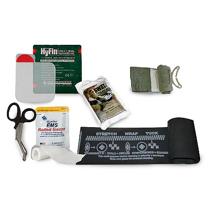 GideonTactical: Gunshot Trauma Aid Kit (GTAK) - Basic