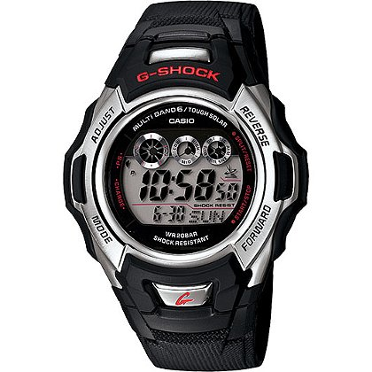 Casio: G Shock Digital Solar/Atomic, 200M WR Watch