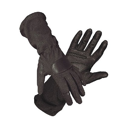 Hatch SOG-600 Operator Tactical Glove, Goatskin/Nomex, Black