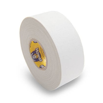 Howies Premium White Cloth Hockey Tape, 1.5 inch * 75 feet