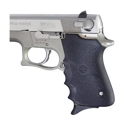 Hogue: S&W 6906, Shorty 40, Rubber grip with Finger Grooves