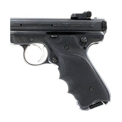 Hogue: Ruger MK II & MK III Black Rubber Grip with Right Hand Thumb Rest
