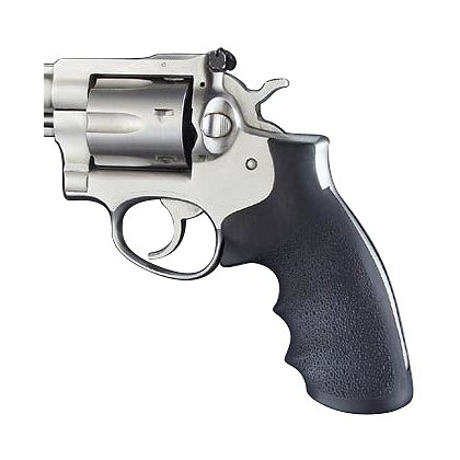 Hogue Ruger Security Six Black Rubber Monogrip