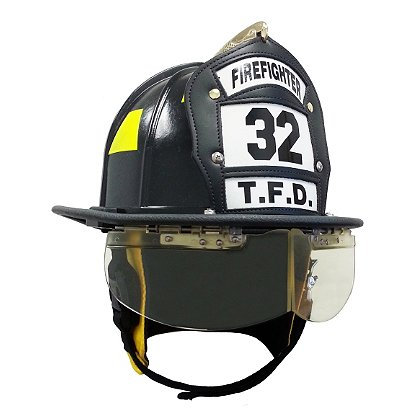 Morning Pride: Traditional Helmet EZ-Flips Eye Shields for Ben 2 Plus, NFPA