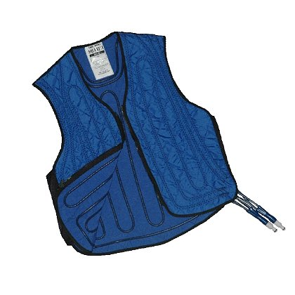 CoolShirt: Aqua Vest Active Firefighter Rehab Vest