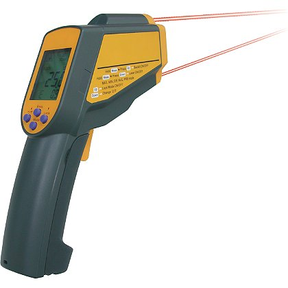 Metris Heavy Duty Infra-Red Dual Laser Thermometer