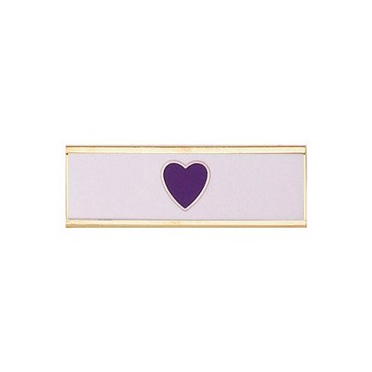 Blackinton Commendation Bar: Purple Heart