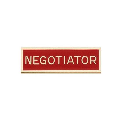 Blackinton Commendation Bar: Negotiator